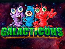 Онлайн слот Galacticons